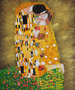 Gustav Klimt's the Kiss Popularity