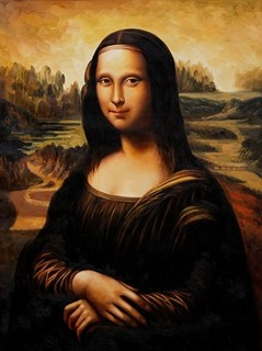 Leonardo Da Vinci's Mona Lisa most talked about oil painting of the decade