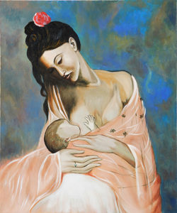 Pablo Picasso - Maternity oil painting