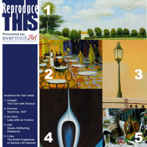 ReproduceTHIS: Know your Art