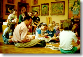Educational program in the Barnes Foundation in Merion