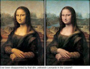 Mona Lisa still Smiling...
