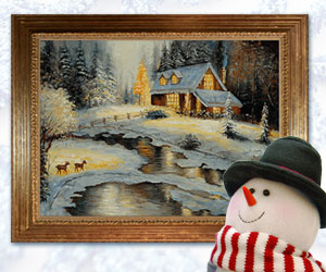 Creating your won Winter Wonderland