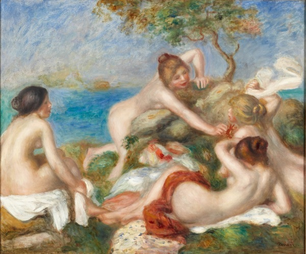 The Carnegie Art Museum bet Renoir's Bathers With Crab.