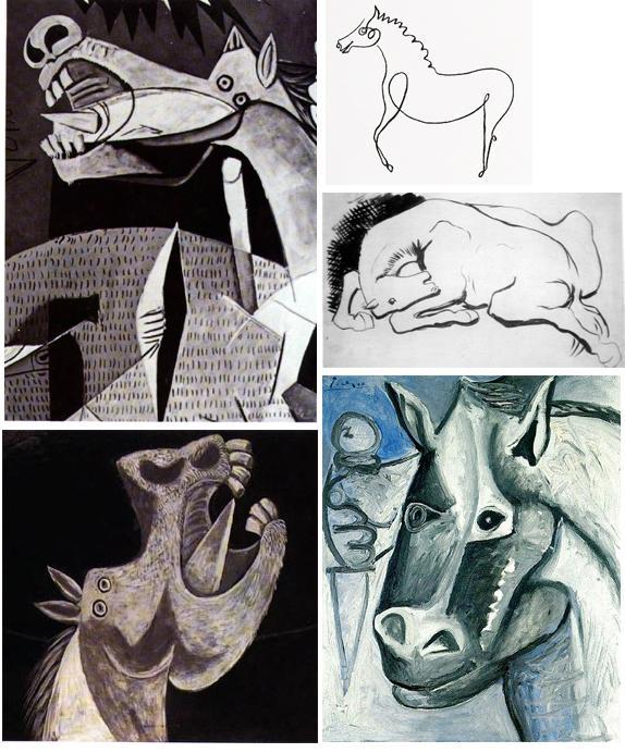 Picasso's Horses