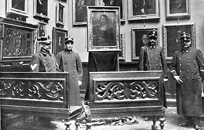 STEALING THE MONA LISA, 1911