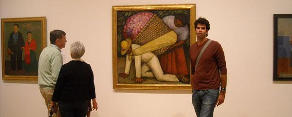 Diego Rivera at the SFMOMA