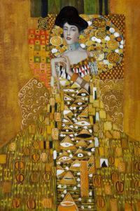 Klimt - Portrait of Adele Bloch-Bauer 1, 1907