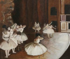 Degas - Ballet Rehearsal on the Stage