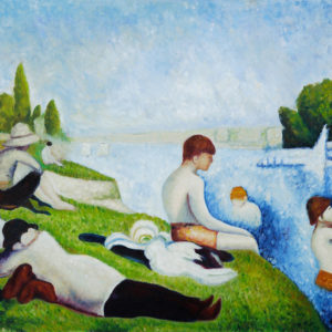 Bathers at Asnieres – Working Men Immortalized on Canvas