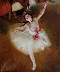 Edgar Degas - Star Dancer (On Stage)