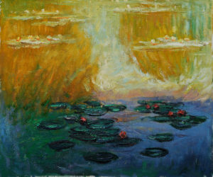 Claude Monet - Water Lilies, 1908