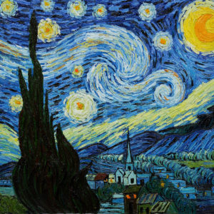 """Vincent van Gogh """"Starry Night"""" Most Popular Oil Painting in 2011"""