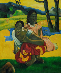 "Gauguin - ""When Will You Marry?"" (full view)"