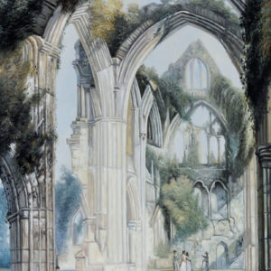 The Story Behind the Painting of Tintern Abbey