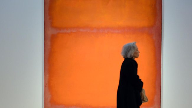 Painting by Rothko fetches record at $86m