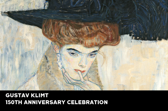 Klimt - Black Feather Hat