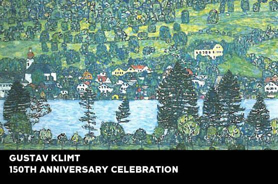 Klimt - Pendio Montano a Unterach