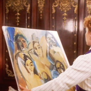 A Titanic Tiff Over a Famous Picasso Painting