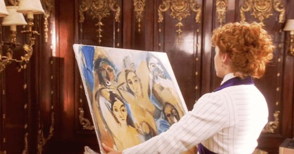 """James Cameron Sinks Picasso's """"Les Desmoiselles d'Avignon"""""""