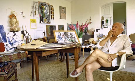 Pablo Picasso lived in Mougins, France for the last 12 years of his life.
