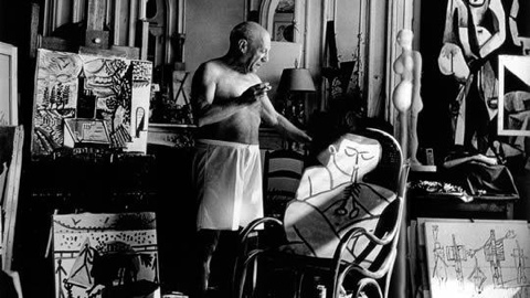 Follow Picasso through the South of France