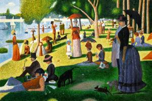 Seurat - Sunday Afternoon on the Island of La Grande Jatte