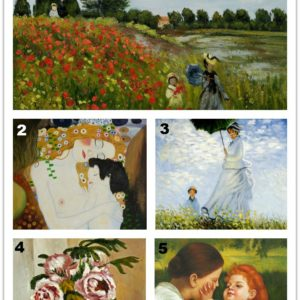 overstockArt.com Reveals Top 5 Most Popular Oil Paintings for Mother's Day