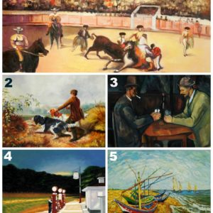 Top 5 Most Popular Oil Paintings for Father's Day