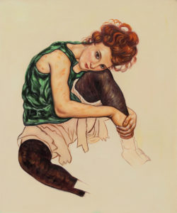 Schiele - The Artist's Wife