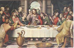 la ultima cena JUANES