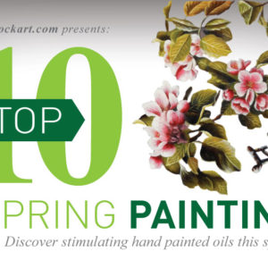 overstockArt.com Announces Top Ten Oil Paintings for Spring 2014