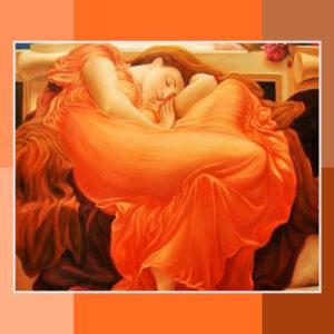 Cores Arte 05 Celosia Orange