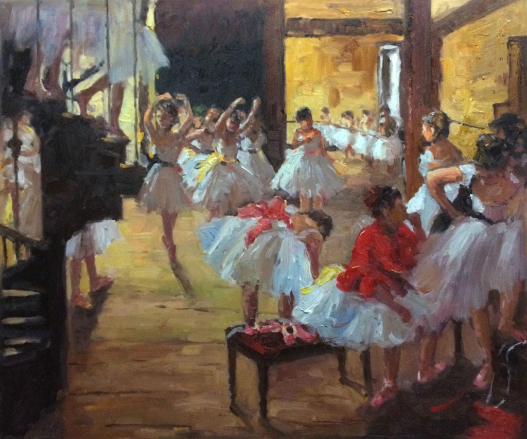 Degas - The Dance Class