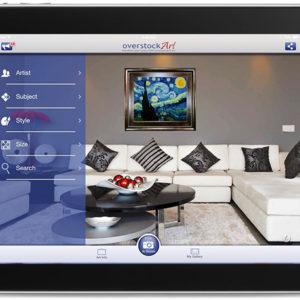 overstockArt.com Reveals New Innovative Art Gallery iPad App