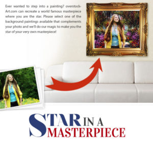 Ever Dreamt of Starring in a Famous Art Masterpiece?