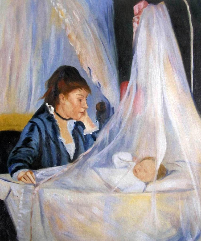 Morisot - Le Berceau (The Cradel)