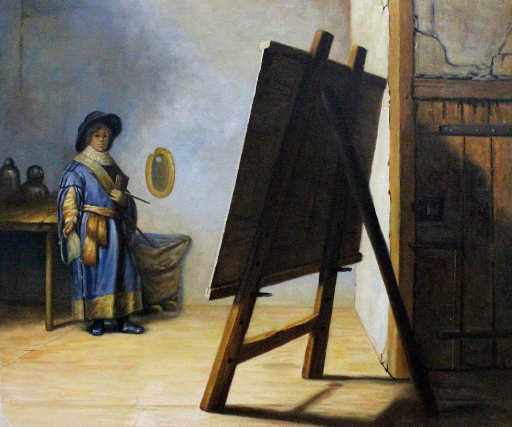 Rembrandt - Artist in His Studio