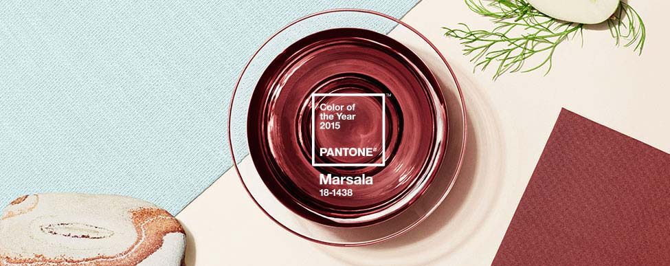 Marsala - 2015 Pantone Color of the Year