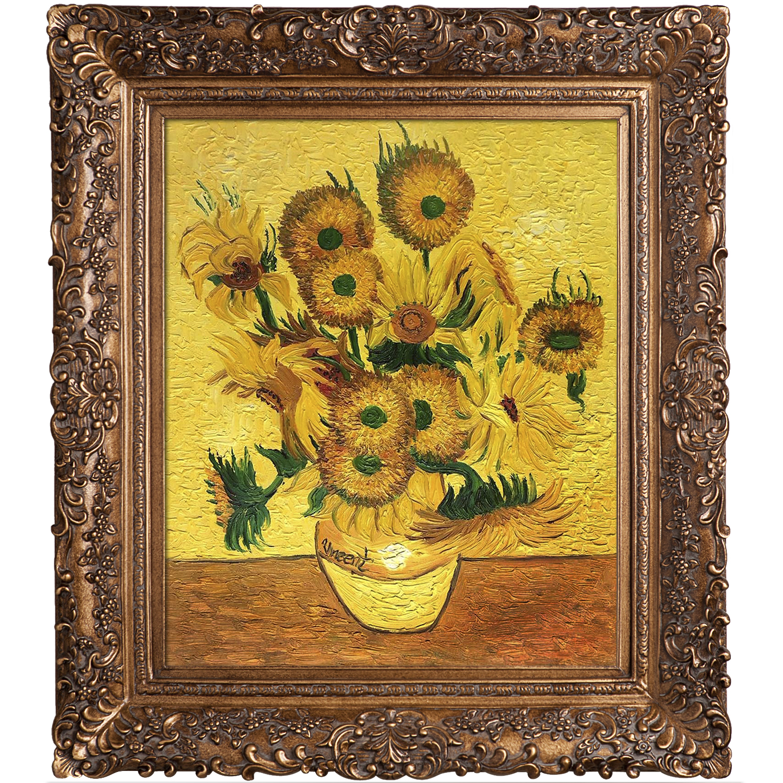 Vase with Fifteen Sunflowers – Vincent Van Gogh