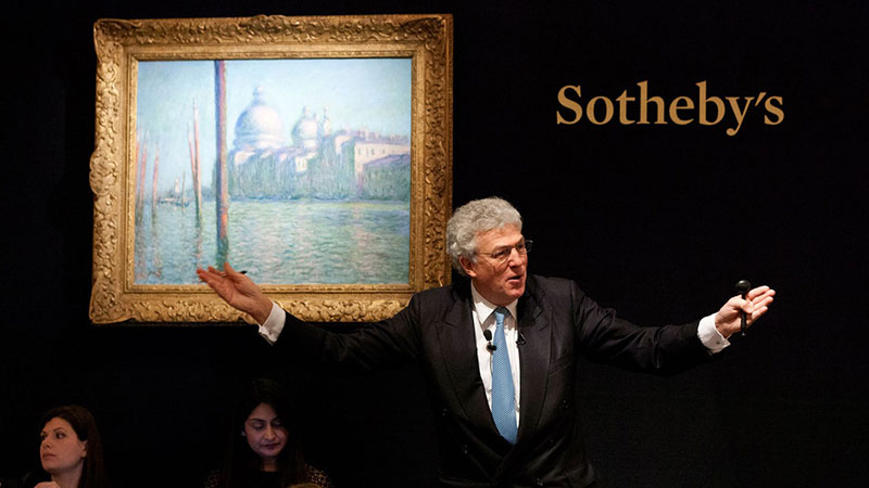 Monet leads historic London sale event at Sotheby's