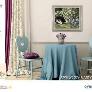 overstockArt.com Releases Its New 2015 Spring Art Catalog