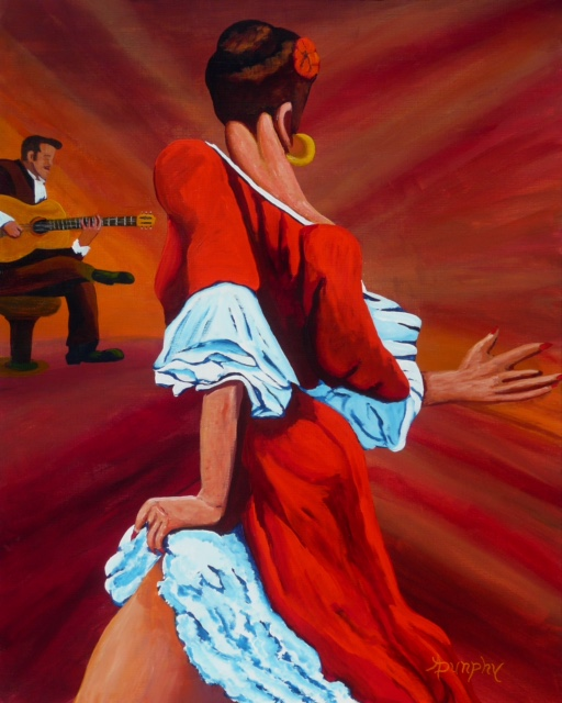 DANCING IN RED by Anthony Dunphy