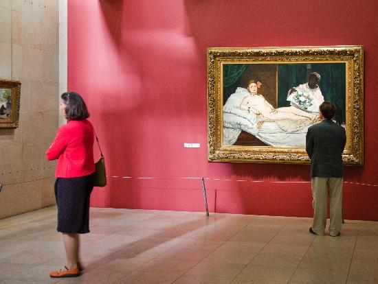 Olympia by Manet Musee d'Orsay
