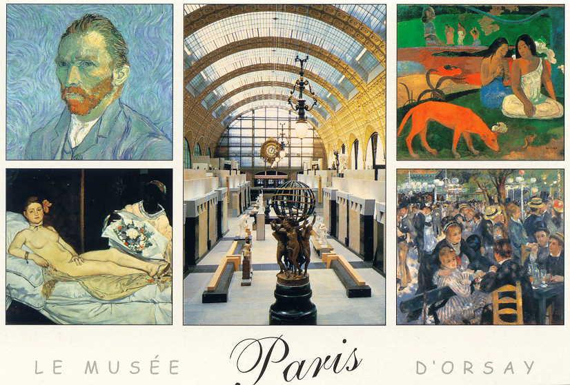 Musee d'Orsay lift photo ban