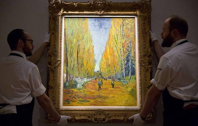 Van Gogh's L'Allee des Alyscamps