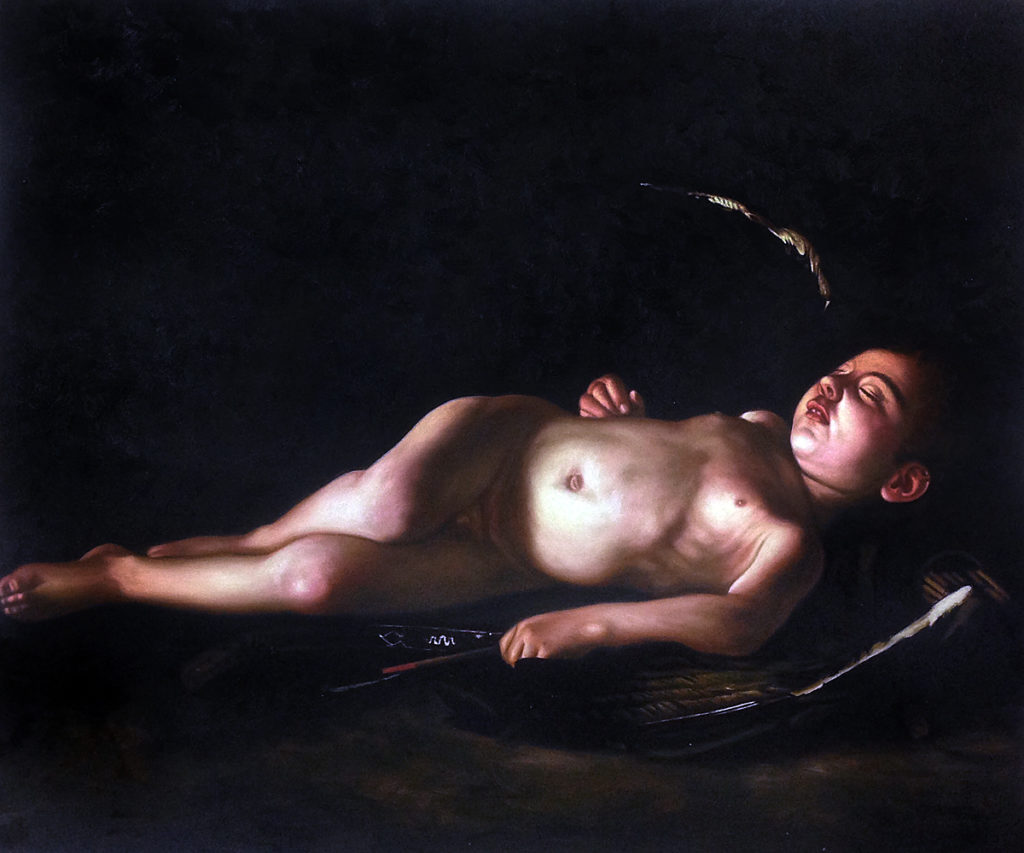 Carvaggio - Sleeping Cupid