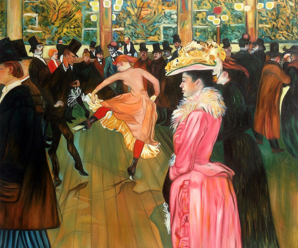 Toulouse-Lautrec - At the Moulin Rouge, The Dance