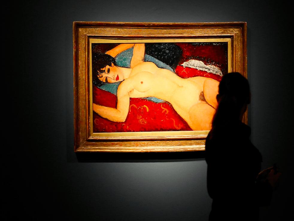 Amedeo Modigliani  Nudo Disteso