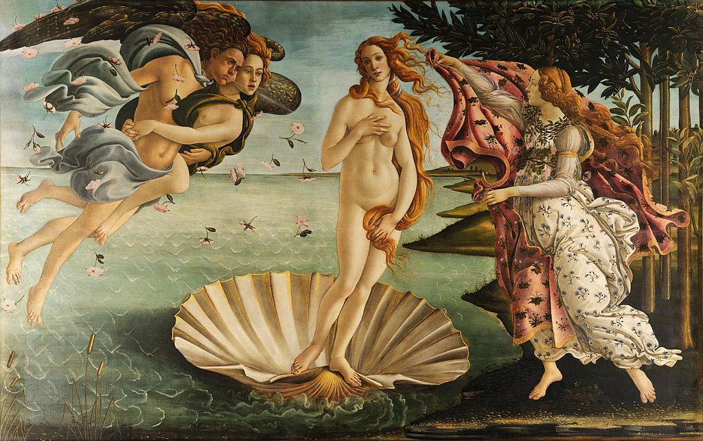 Sandro Botticelli - The Birth of Venus